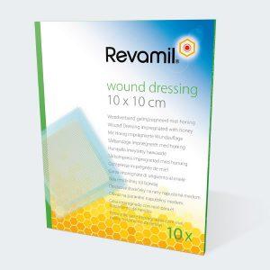 Revamil wound dressing 10 x 10cm