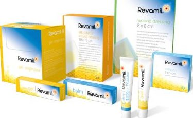 Revamil wound care products